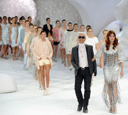 Karl Lagerfelf FashionShow